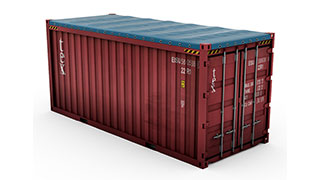 20 ft Open Top Containers