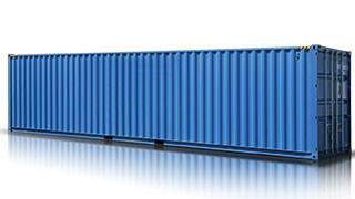 40 ft High Cube Dry Cargo Containers