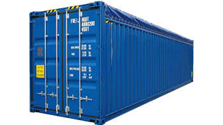 40 ft Open Top Containers