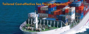 sea freight banner